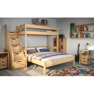 Poschodova posteľ Junior 7