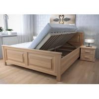 Drevená posteľ Martina s úložným priestorom