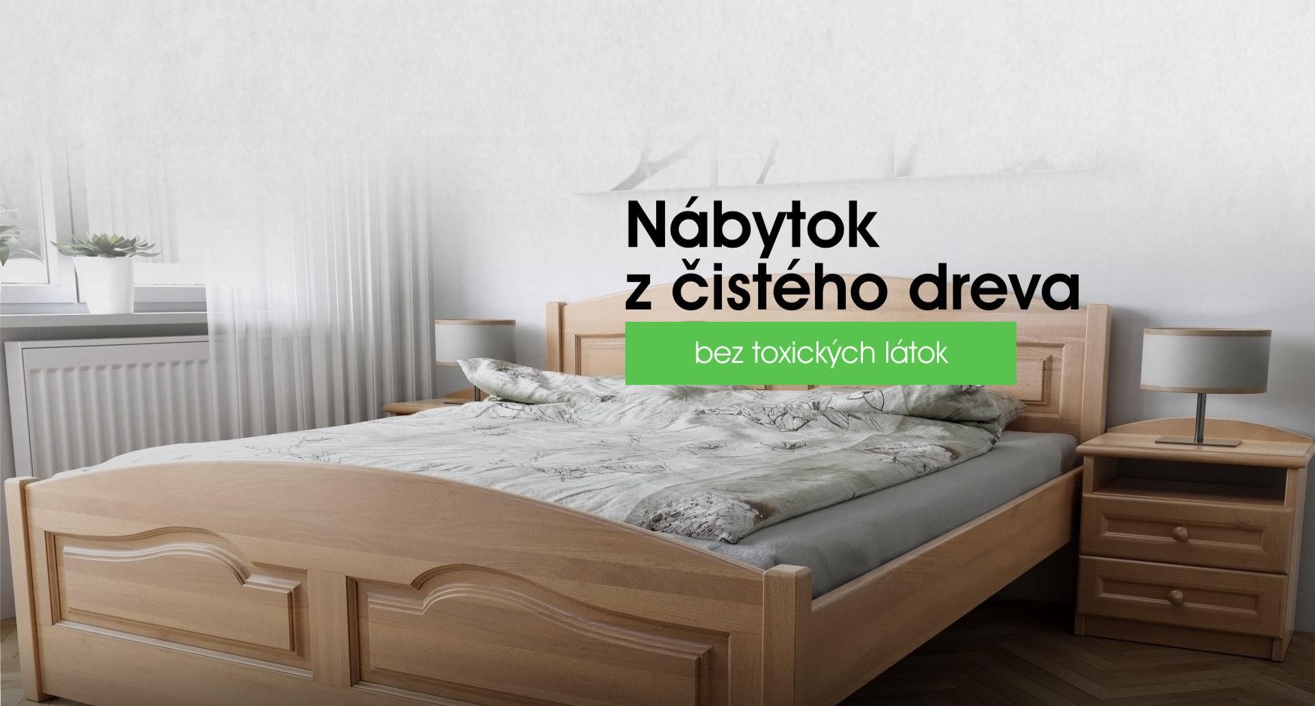 ľVýroba drevenej postele