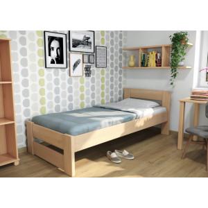 Drevená posteľ Ela