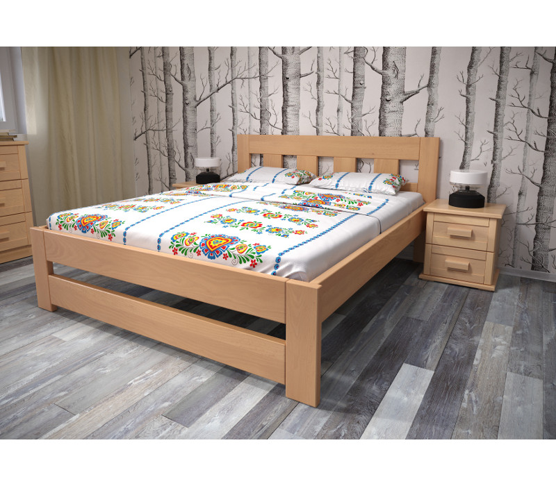 Drevená posteľ Erika