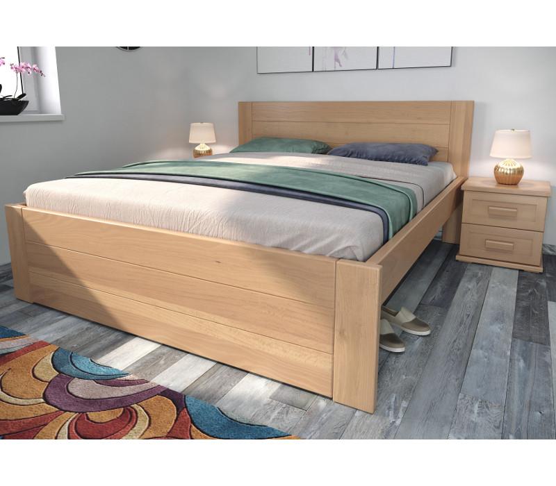 Drevená posteľ Ivana