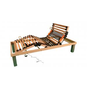 Lamelová posteľ s diaľkovým ovládaním
