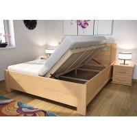 Drevená posteľ Lucia s úložným priestorom