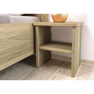 Dubový nočný stolík Monika