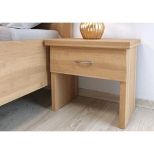 Bukový nočný stolík Perla