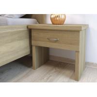 Dubový nočný stolík Perla