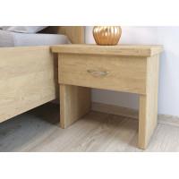 Jaseňový nočný stolík Perla