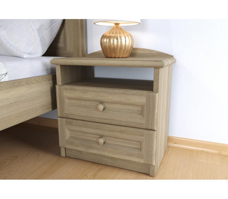Dubový nočný stolík Vanesa