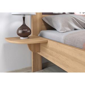 Bukový nočný stolík Veronika