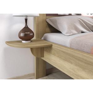 Dubový nočný stolík Veronika