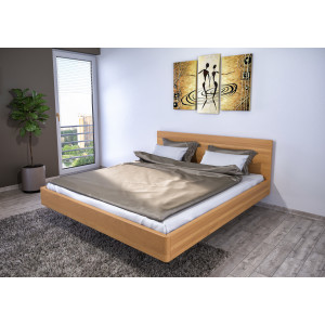 Drevená posteľ Pegas s úložným priestorom