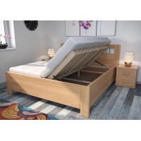 Drevená posteľ Perla s úložným priestorom