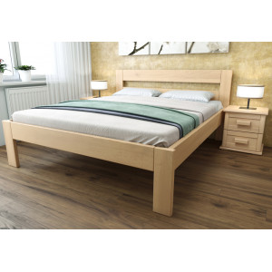 Drevená  posteľ Romana