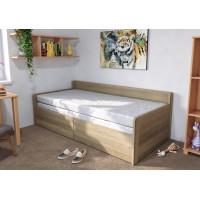 Dubová rozkladacia posteľ Sára