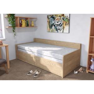 Jaseňová rozkladacia posteľ Sára