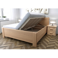 Drevená posteľ Sofia s úložným priestorom