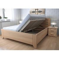 Drevená posteľ Vanda s úložným priestorom