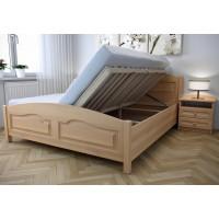 Drevená posteľ Vanesa s úložným priestorom